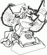 Imprimer le coloriage : Donkey Kong, numéro 7532e30a