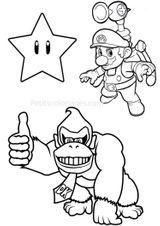 Imprimer le coloriage : Donkey Kong, numéro 785953e4