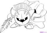 Imprimer le coloriage : Kirby, numéro 203584