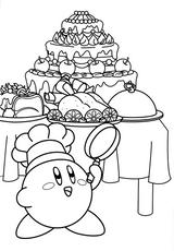 Imprimer le coloriage : Kirby, numéro 262499