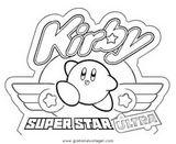 Imprimer le coloriage : Kirby, numéro 268179