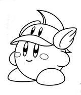 Imprimer le coloriage : Kirby, numéro 268180