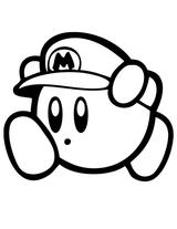 Imprimer le coloriage : Kirby, numéro 439821