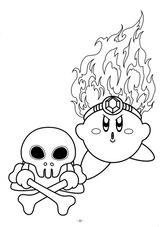 Imprimer le coloriage : Kirby, numéro 54981