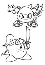 Imprimer le coloriage : Kirby, numéro 5762