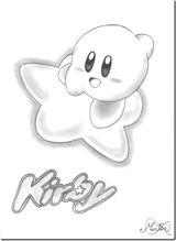 Imprimer le coloriage : Kirby, numéro 6338