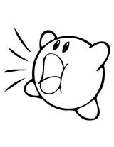 Imprimer le coloriage : Kirby, numéro 676776