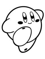 Imprimer le coloriage : Kirby, numéro 676777