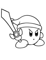 Imprimer le coloriage : Kirby, numéro 755411