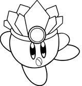 Imprimer le coloriage : Kirby, numéro 8ad8b732
