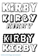 Imprimer le coloriage : Kirby, numéro ed9338bf