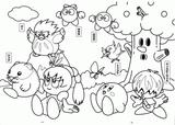 Imprimer le coloriage : Kirby, numéro f3c51251