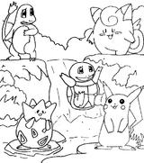 Imprimer le coloriage : Pokemon, numéro 434149