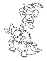 Imprimer le coloriage : Pokemon, numéro 468927