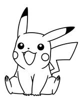 Imprimer le coloriage : Pokemon, numéro 585869