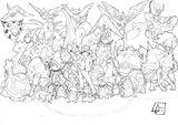 Imprimer le coloriage : Pokemon, numéro 627376