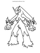 Imprimer le coloriage : Pokemon, numéro 7104