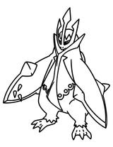 Imprimer le coloriage : Pokemon, numéro 7113