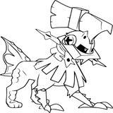 Imprimer le coloriage : Pokemon, numéro b7c8e613