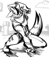 Imprimer le coloriage : Star Fox, numéro 15058