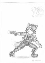Imprimer le coloriage : Star Fox, numéro 9140