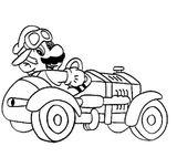 Imprimer le coloriage : Super Mario, numéro 17181