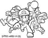 Imprimer le coloriage : Super Mario, numéro 186617