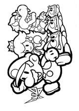 Imprimer le coloriage : Super Mario, numéro 193271