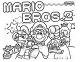 Imprimer le coloriage : Super Mario, numéro 20154