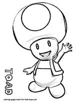 Imprimer le coloriage : Super Mario, numéro 294717