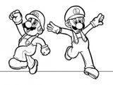 Imprimer le coloriage : Super Mario, numéro 29669