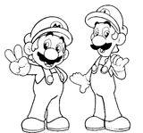 Imprimer le coloriage : Super Mario, numéro 3299