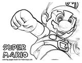 Imprimer le coloriage : Super Mario numéro 3307