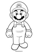 Imprimer le coloriage : Super Mario, numéro 3311
