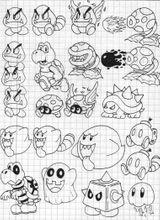Imprimer le coloriage : Super Mario, numéro 504577