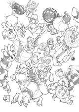Imprimer le coloriage : Super Mario, numéro 585877