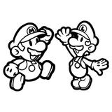 Imprimer le coloriage : Super Mario, numéro 686940