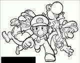 Imprimer le coloriage : Super Mario, numéro 6a530125