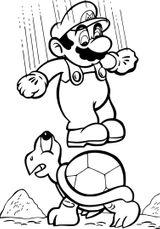 Imprimer le coloriage : Super Mario, numéro 91c0a2ec