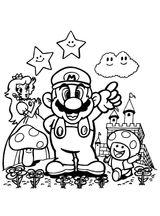 Imprimer le coloriage : Super Mario, numéro c4274745