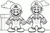 Imprimer le coloriage : Super Mario, numéro f34368c1