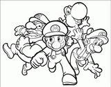 Imprimer le coloriage : Super Mario, numéro f4c0e6d7