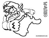 Imprimer le coloriage : Wario, numéro 2106