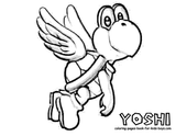 Imprimer le coloriage : Yoshi, numéro 1888