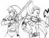 Imprimer le coloriage : Zelda, numéro 15201