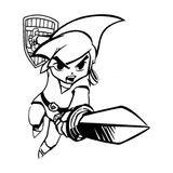 Imprimer le coloriage : Zelda numéro 1665