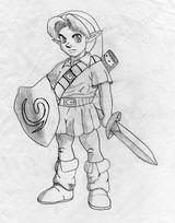 Imprimer le coloriage : Zelda numéro 1680