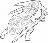 Imprimer le coloriage : Zelda, numéro 2200