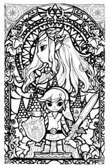 Imprimer le coloriage : Zelda, numéro 59f3d92c