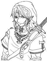 Imprimer le coloriage : Zelda, numéro 676768